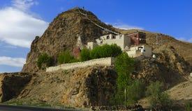 Tibetanisches Kloster lizenzfreies stockfoto