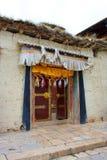 Tibetanisches Kloster. Lizenzfreies Stockbild