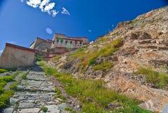 Tibetanisches Kloster stockbild