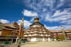 Tibetanisches Stupa Stockfotos