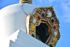 Tibetanisches Stupa Stockbild