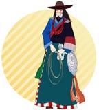 Tibetano ilustração do vetor