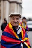 Tibetano anziano Fotografia Stock Libera da Diritti