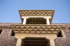 tibetant byggande Royaltyfria Bilder