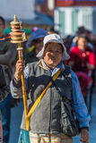 Tibetant folk arkivfoto