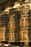 tibetant hjul för bön Royaltyfria Foton