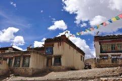 tibetant hus Royaltyfri Fotografi