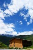 tibetant hus Royaltyfria Bilder