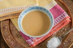 Tibetant te för Yaksmör royaltyfri fotografi