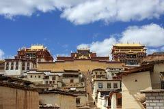tibetant tempel Royaltyfri Foto