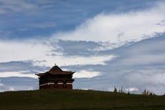 Tibetant tempel Royaltyfria Foton
