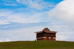 Tibetant tempel Royaltyfria Bilder