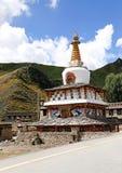 Tibeten village temple Stock Photography