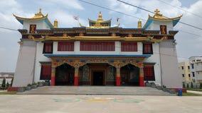 Tibetian Buddha świątynia Zdjęcia Stock