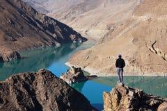 Tibetian lake Stock Image