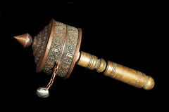 Tibetian Prayer Wheel Stock Photo