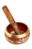 Tibetian singing bowl Stock Photos