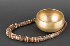 Tibetian singing bowl Royalty Free Stock Photos