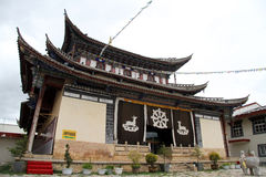 Tibetian temple Stock Photos