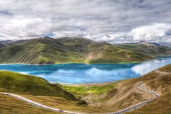 Tibetlake Royalty Free Stock Photos