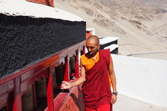 Tibeton lama Fotografia Royalty Free