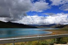 Tibets-Landschaft Lizenzfreies Stockbild