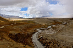 Tibets landskap arkivfoto