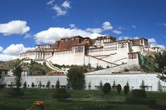 Tibets Potala Palast in Lhasa Lizenzfreies Stockfoto