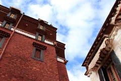 Tibetslandschap Stock Foto's
