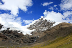 Tibetslandschap Stock Afbeeldingen