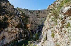 The Tibi Dam embalse de Tibi Royalty Free Stock Images