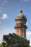 Tibidabo寺庙在巴塞罗那 免版税库存照片