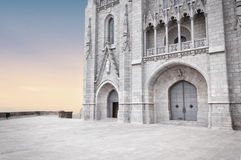 Tibidabo świątynia, Barcelona Zdjęcia Stock