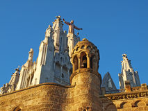 tibidabo της Ισπανίας εκκλησιών &t Στοκ εικόνα με δικαίωμα ελεύθερης χρήσης