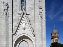 tibidabo Испании церков barcelona стоковое изображение rf