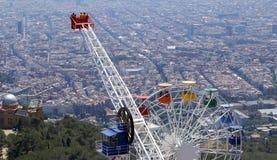 Tibidabo amusement park Stock Image
