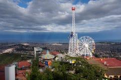 Tibidabo amusement park Royalty Free Stock Photos