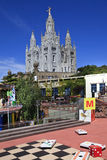 Tibidabo area Stock Images