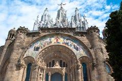 Tibidabo, Barcellona. Immagini Stock Libere da Diritti