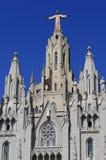 Tibidabo in Barcelona Stock Image