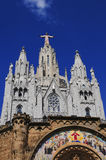 Tibidabo in Barcelona Stock Photo