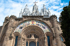 Tibidabo, Barcelona. Royalty Free Stock Images