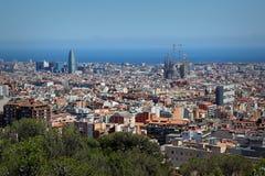 Tibidabo, Barcelona, España Imagenes de archivo