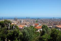 Tibidabo, Barcelona, España Imágenes de archivo libres de regalías