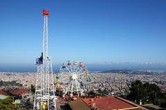 Tibidabo, Barcelona, España Fotos de archivo