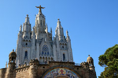 Tibidabo, Barcelona, España Fotografía de archivo libre de regalías