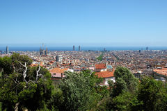 Tibidabo, Barcelona, Spanien lizenzfreie stockbilder