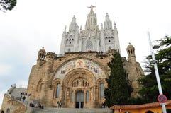 Tibidabo Barcelone catedral Photos stock