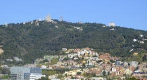 Tibidabo, Barcelone, Espagne Image libre de droits