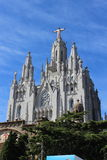 Tibidabo royalty free stock photography